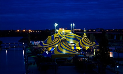 About working conditions at Cirque du Soleil